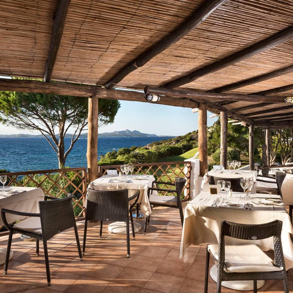 Restaurant La Terrazza - Hotel La Bisaccia - Hotel Sardinien 4 Sterne